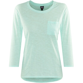 Patagonia Mainstay - T-shirt manches longues Femme - turquoise